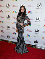 LAS VEGAS, NV - December 19 : Shamcey Supsup pictured arriving at Miss Universe 2012 finals at Planet Hollywod Resort on December 19, 2012 in Las Vegas, Nevada. Credit: Kabik/Starlitepics/MediaPunch Inc. /NortePhoto