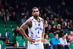 S&ouml;dert&auml;lje 2014-03-25 Basket SM-kvartsfinal 1 S&ouml;dert&auml;lje Kings - J&auml;mtland Basket :  <br /> J&auml;mtlands Adama Darboe <br /> (Foto: Kenta J&ouml;nsson) Nyckelord:  S&ouml;dert&auml;lje Kings SBBK J&auml;mtland Basket SM Kvartsfinal Kvart T&auml;ljehallen portr&auml;tt portrait depp besviken besvikelse sorg ledsen deppig nedst&auml;md uppgiven sad disappointment disappointed dejected
