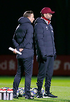 26th November 2019; Anfield, Liverpool, Merseyside, England; UEFA Champions League, Liverpool versus Napoli, Liverpool training ; Liverpool manager Jurgen Klopp and Liverpool assistant coach Pepijn Lijnders oversee today's open training session at the club's Melwood training ground ahead of tomorrow's Champions League group match against SSC Napoli