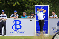 Victor Perez (FRA) tees off the 16th tee during Sunday's Final Round of the Northern Ireland Open 2018 presented by Modest Golf held at Galgorm Castle Golf Club, Ballymena, Northern Ireland. 19th August 2018.<br /> Picture: Eoin Clarke | Golffile<br /> <br /> <br /> All photos usage must carry mandatory copyright credit (&copy; Golffile | Eoin Clarke)
