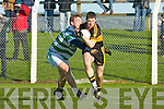 Dr Crokes Kieran O'Leary goes past Ballinacourty during their Munster Championship quarter final clash in Dungarvan on Sunday