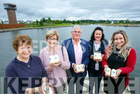 Recovery Heaven Launching the Celebration of Light on the 16th August  8.30 at the Tralee Wetlands. Pictured l-r Bridie Hackbarth, Maureen O'Brien, Dermot Crowley, Jacinta Bradley and Joanie McAuliffe
