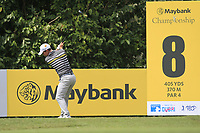 Chris Paisley (ENG) in action on the 8th tee during Round 2 of the Maybank Championship at the Saujana Golf and Country Club in Kuala Lumpur on Friday 2nd February 2018.<br /> Picture:  Thos Caffrey / www.golffile.ie<br /> <br /> All photo usage must carry mandatory copyright credit (&copy; Golffile | Thos Caffrey)