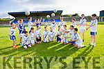 St Marys U14's get in some extra training ahead of The John West sponsored Féile Peile Na nÓg South West taking place from the 24th-26th June pictured here at the Con Keating Park Cahersiveen are front l-r; Jim Murphy,, Daragh Devlin, Ferdia Greaney, Kain O'Shea, Ruairi Greaney, Daren Kelly, Odhran O'Shea, Timmy O'Sullivan, Alex Coffey, back l-r; Josh O'Sullivan, Paul O'Shea, Ross Musgrave, Billy O'Connell, Cian O'Donoghue, Cathal O'Shea, Daragh O'Shea, Colin O'Sullivan & Austin Murphy.  St Marys will host St Gabriel's of Galway.