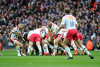 Nick Easter of Harlequins takes over as scrum half