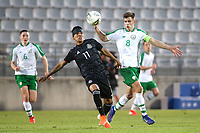 Ulises Cardona of Mexico and Republic of Ireland's Jayson Molumby during Republic Of Ireland Under-21 vs Mexico Under-21, Tournoi Maurice Revello Football at Stade Parsemain on 6th June 2019