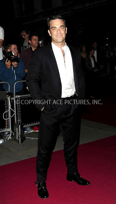 WWW.ACEPIXS.COM....US SALES ONLY....September 4, 2012, London, England.....Robbie Williams arriving at the GQ Men of the Year Awards at the Royal Opera House on September 4, 2012 in London.......By Line: Famous/ACE Pictures....ACE Pictures, Inc..Tel: 646 769 0430..Email: info@acepixs.com