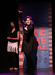 Aiesha Alia Dukes and Richard Spitaletta perform onstage during the 'ME THE PEOPLE: The Trump America Musical' Press Preview Presentation at The Triad Theater on June 21, 2017 in New York City.