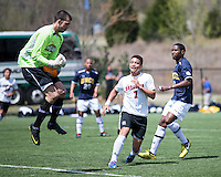 The UNC Greensboro Spartans played the University of South Carolina Gamecocks in The Manchester Cup on April 5, 2014.  The teams played to a 0-0 tie.  Davis Griffin (1), Asa Kryst (7)