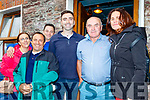 L-R karen Murphy, Mike Fokas, Alan Finnigan, Donal&Derry Murphy with Diane Fokas enjoying the the Brandon regatta last Sunday.