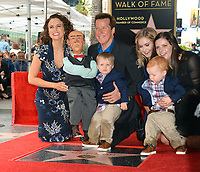 Jeff Dunham, Audrey Murdick &amp; Family at the Hollywood Walk of Fame Star Ceremony honoring ventriloquist Jeff Dunham, Los Angeles, USA 21 Sept. 2017<br /> Picture: Paul Smith/Featureflash/SilverHub 0208 004 5359 sales@silverhubmedia.com