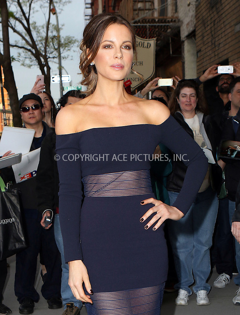 WWW.ACEPIXS.COM<br /> <br /> May 10 2016, New York City<br /> <br /> Actress Kate Beckinsale arriving at the 'Love &amp; Friendship' screening at the Landmark Sunshine Cinema on May 10, 2016 in New York City.<br /> <br /> By Line: Nancy Rivera/ACE Pictures<br /> <br /> <br /> ACE Pictures, Inc.<br /> tel: 646 769 0430<br /> Email: info@acepixs.com<br /> www.acepixs.com