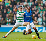 11.3.2018 Rangers v Celtic:<br /> Tom Rogic and Bruno Alves