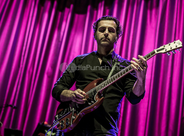 LAS VEGAS, NV - April 25: ***HOUSE COVERAGE*** Zappa Plays Zappa featuring Dweezil Zappa performs at Brooklyn Bowl at The Linq in Las Vegas, NV on April 25, 2015. Credit: Erik Kabik Photography/MediaPunch