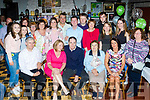 60 Rocks<br /> ------------<br /> Con O'Sullivan seated centre, from Finuge but living in the US, home on holidays went  to McCarthys bar in the village last Saturday night to find a large group of friends and family waiting inside to celebrate his 60th birthday with him.