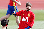 Spain's Gerard Pique during training session. March 21,2017.(ALTERPHOTOS/Acero)