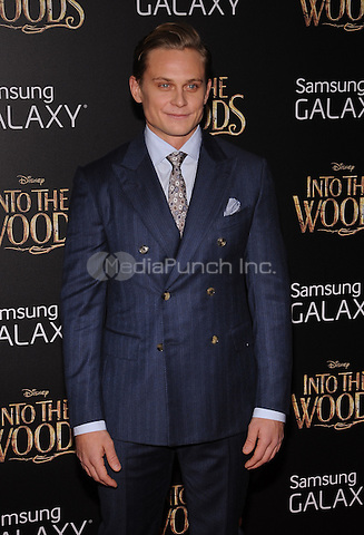 New York,NY-December 8: Billy Magnussen attends the 'Into The Woods' world premiere at the Ziegfeld Theater on December 8, 2014. Credit: John Palmer/MediaPunch