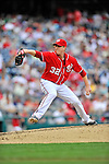 24 September 2011: Washington Nationals pitcher Tom Gorzelanny on the mound in relief against the Atlanta Braves at Nationals Park in Washington, DC. The Nationals defeated the Braves 4-1 to even up their 3-game series. Mandatory Credit: Ed Wolfstein Photo