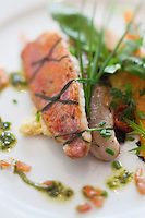 Europe/France/Provence-Alpes-Côte d'Azur/06/Alpes-Maritimes/Nice: Rouget provençale, recette du Restaurant: Les Epicuriens