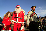 Israel, Galilee, Christmas celebrations in Nazareth, the procession