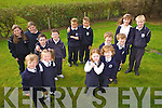 SEEING DOUBLE: There are seven sets of twins attending Spa National School this year. Pictured were front l-r: Kealan and Grace O'Dowd with Rhea and Rae Moriarty. Middle l-r: Liam and Tomás O'Connor with Jack and Charlie Nolan. Back l-r: Anna Marie and Sinead O'Donnell, Conor and Marc Brick with Emily and Daniel Nolan.
