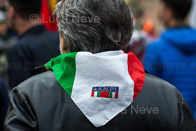 Rome, 17/02/2018. Today, in contemporary with the march held in Strasburg, thousands of people marched from Piazza dell'Esquilino to Fori Imperiali for the national demonstration in support and solidarity with the Kurdish people resisting and fighting in the Kurdish-held Syrian enclave of Afrin against the ongoing Turkish military campaign, and to call for the immediate release of the PKK leader Abdullah 'Apo' Ocalan held, since 1999, in the Turkish prison of İmralı island, in the Sea of Marmara.  (Source – Wikipedia.org, at http://bit.ly/1FatBZU ). The demonstration was organised by the Rete Kurdistan Roma, Comunità Curda di Roma e del Lazio, Centro Socio-Culturale Ararat and UIKI (Ufficio d'Informazione del Kurdistan in Italia), supported amongst others by: Comune di Palermo, Comune <br /> di Napoli, Arci (Italian Partizans), FIOM (Federazione Impiegati Operai Metallurgici Nazionale), COBAS (Confederazione dei Comitati di Base), Direttivo Nazionale della FLC CGIL, Movimento NO TAV, Movimento NO TAP, Nonunadimeno Nazionale, Giuristi Democratici, Unione degli Studenti, Comitato di base NoMuos Palermo, Coordinamento Toscano per il Kurdistan, Rete Kurdistan Puglia, Centri Sociali Marche, Csoa Angelina Cartella, Reggio Calabria, Wu Ming Scrittori, Potere al Popolo, Osservatorio Repressione. <br /> <br /> For more information please click here: https://www.facebook.com/events/839904992883001/ & https://www.retekurdistan.it/