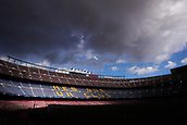 12th September 2017, Camp Nou, Barcelona, Spain; UEFA Champions League Group stage, FC Barcelona versus Juventus; Camp Nou Stadium hours before start of the first European match of the season