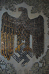 Nazi eagle emblem mosaic