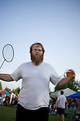 Brad Cook, of Megafaun at TRKfest Music Festival in Pittsboro, NC.