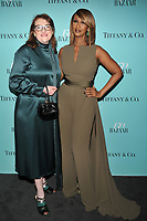 NEW YORK, NY - APRIL 19: Glenda Bailey and Iman at the Harper's Bazaar: 150th Anniversary Party at The Rainbow Room on April 19, 2017 in New York City.<br /> CAP/MPI/PAL<br /> &copy;PAL/MPI/Capital Pictures