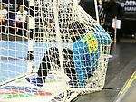 11.01.2019, Mercedes Benz Arena, Berlin, GER, BRA vs. FRA, im Bild <br /> Cesar Augusto Almeida (BRA #89), im Tornetz<br /> <br />      <br /> Foto &copy; nordphoto / Engler
