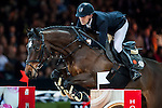 Simon Delestre of France riding Csarina de Fuyssieux in action at the Gucci Gold Cup during the Longines Hong Kong Masters 2015 at the AsiaWorld Expo on 14 February 2015 in Hong Kong, China. Photo by Xaume Olleros / Power Sport Images