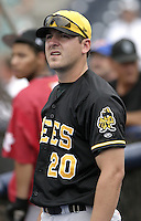 Salt Lake Bees pitcher Joe Saunders during practice before the Triple-A All-Star Game at Fifth Third Field on July 12, 2006 in Toledo, Ohio.  (Mike Janes/Four Seam Images)