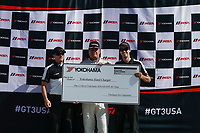 IMSA Porsche GT3 Cup Challenge USA<br /> Road Atlanta<br /> Road Atlanta, Braselton GA<br /> Friday 6 October 2017<br /> IMSA Porsche GT3 Cup Challenge USA, Race 2, Yokohama Hard Charger Award<br /> World Copyright: Jake Galstad<br /> LAT Images
