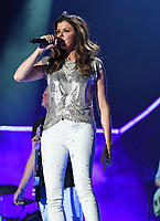 11 June 2017 - Nashville, Tennessee - Karen Fairchild, Little Big Town. 2017 CMA Music Festival Nightly Concert held at Nissan Stadium. Photo Credit: Laura Farr/AdMedia