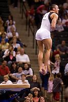 8/16/06 -- Photo By John Cheng -- Visa Championship Men Sr Prelim -- Matt Hicks (HGA/GymMasters) Vault VT