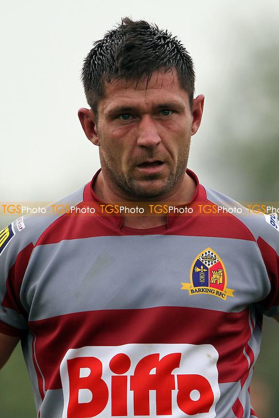 Darren Bowles ( Barking RFC) - Barking RFC vs Rusilip RFC - London & SE Division One North Rugby at Gale Street, Goresbrook - 06/09/14 - MANDATORY CREDIT: Mick Kearns/TGSPHOTO - Self billing applies where appropriate - contact@tgsphoto.co.uk - NO UNPAID USE