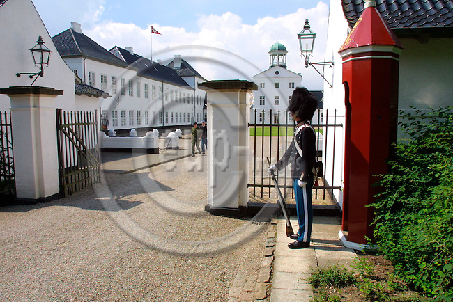 GRAASTEN - DENMARK - 20 JULY 2001 -- Graasten Palace where the Royal Danish family takes residence for the summer.  PHOTO: ERIK LUNTANG/EUP-IMAGES..