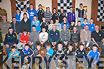 ..MEDALS: The under/12/13/14/16s of the Ardfert Juvenile Football who were presented with their 2011 football medals by Declan O'Sullivan (Dromid Pearse/and the Kerry Senior Team) on Friday night in Kate Brownes, Bar & Restaurant, Ardfert. ...............