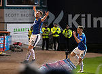 Dundee v St Johnstone&hellip;29.12.18&hellip;   Dens Park    SPFL<br />Liam Craig celebrates his goal on the day that he beat Alan Main&rsquo;s appearance record and is now only second to Steven Anderson<br />Picture by Graeme Hart. <br />Copyright Perthshire Picture Agency<br />Tel: 01738 623350  Mobile: 07990 594431