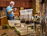 Ray Archuleta presentation on healthy soils with soils and water slake tests at Eco-Farm Conference 2018