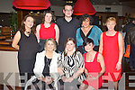 YULE-TIDE: The staff of Harry Corry's enjoying their Christmas party at the Manor West hotel, Tralee on Saturday seated l-r: Sarah Quirke, Annette Barry and Orla Mills. Back l-r: Mary-Claire Crosbie, Sarah Quinn, Ben Slimm, Suzanne Murphy and Theresa O'Donoghue.