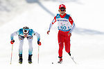 Daiki Kawayoke (JPN),<br /> MARCH 14, 2018 - Cross-Country Skiing : <br /> Men's Sprint 1.5 km Standing Qualification<br /> at Alpensia Biathlon Centre   <br /> during the PyeongChang 2018 Paralympics Winter Games in Pyeongchang, South Korea. <br /> (Photo by Yusuke Nakanishi/AFLO SPORT)