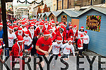 The runners at the start of the Killarney Santa 5km on Saturday