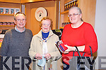 Tim Prendergast, Eileen Prendergast and Celine Everett at the Mary Deady concert  in Siamsa Tire on Friday