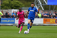 Anthony Wordsworth of AFC Wimbledon and Fabio Tavares of Rochdale AFC during AFC Wimbledon vs Rochdale, Sky Bet EFL League 1 Football at the Cherry Red Records Stadium on 5th October 2019