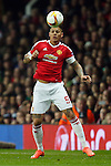 Marcos Rojo of Manchester United during the UEFA Europa League match at Old Trafford. Photo credit should read: Philip Oldham/Sportimage