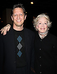Kevin Bailey & Holland Taylor attending the 2013 Tony Awards Meet The Nominees Junket  at the Millennium Broadway Hotel in New York on 5/1/2013...