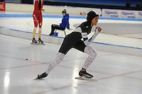 SCHAATSEN: HEERENVEEN: 03-02-2017, KPN NK Junioren, Junioren C Dames 500m, Georgie Dalrymple, ©foto Martin de Jong