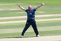 Darren Stevens of Kent appeals for the wicket of Tom Westley during Essex Eagles vs Kent Spitfires, Royal London One-Day Cup Cricket at The Cloudfm County Ground on 6th June 2018